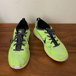 Nike Flyknit One Neon Yellow Sneakers 7.5